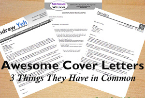 Awesome Cover Letters